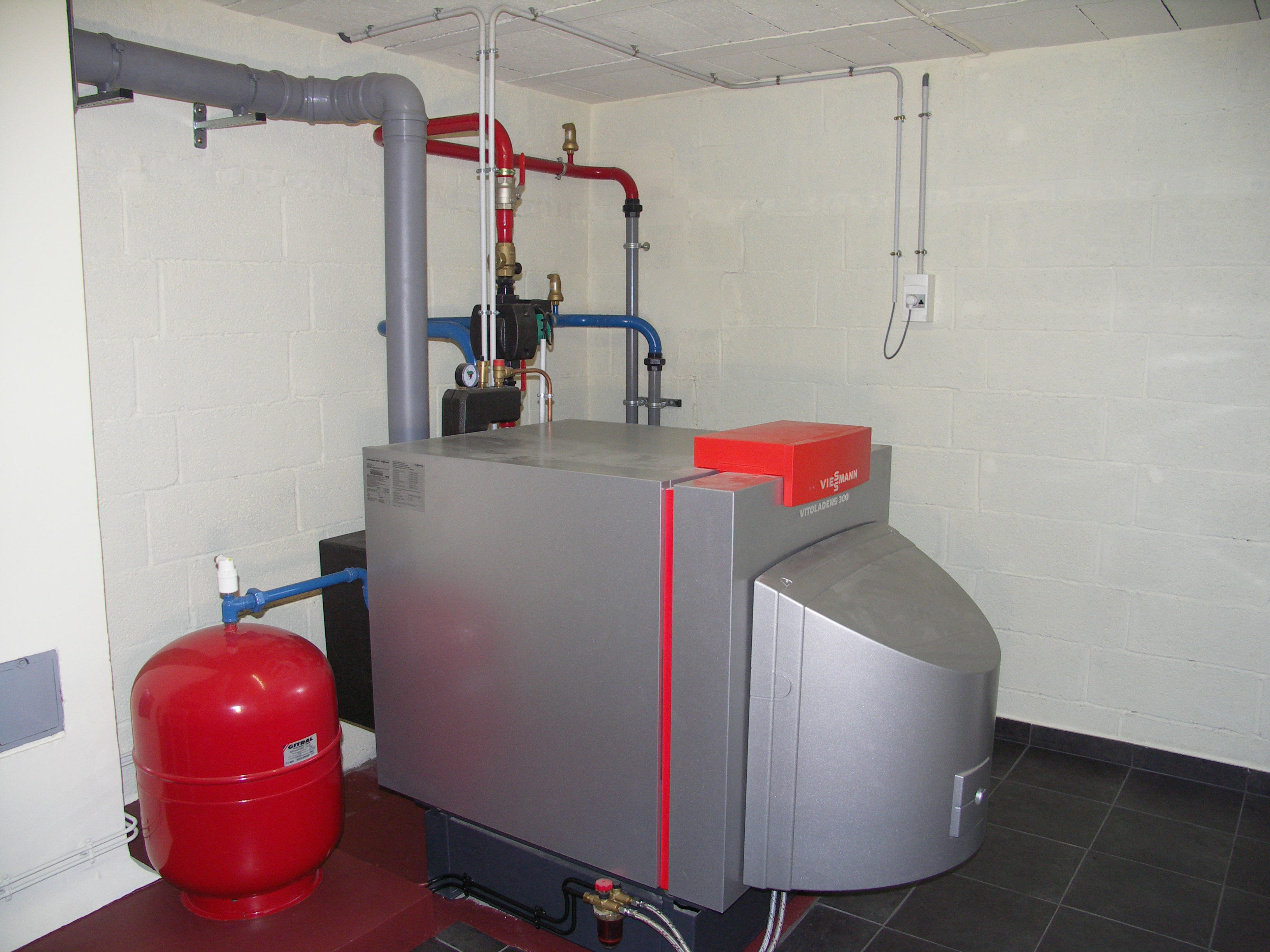 Chaudi re fioul et gaz condensation laffill for Chaudiere fioul murale